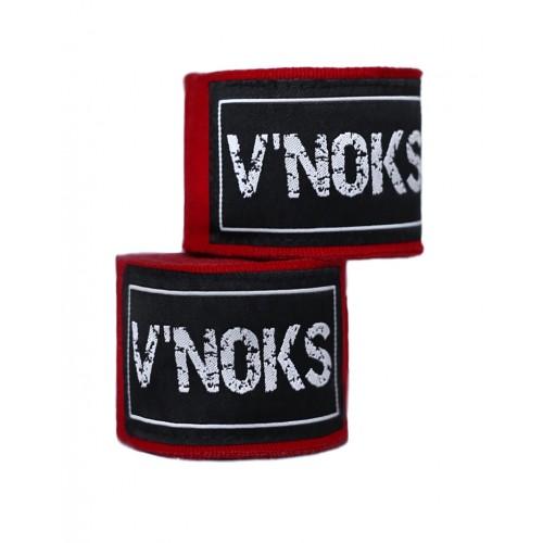 V`Noks Hand Wraps 4,5 m Red