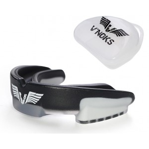 V`Noks 3D Gel Aria Black Mouth Guard