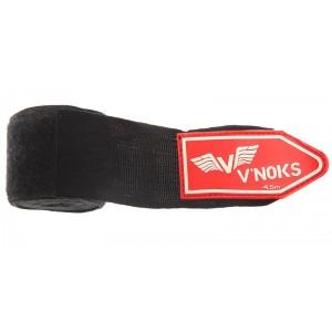 V`Noks Hand Wraps 4,5 m Black