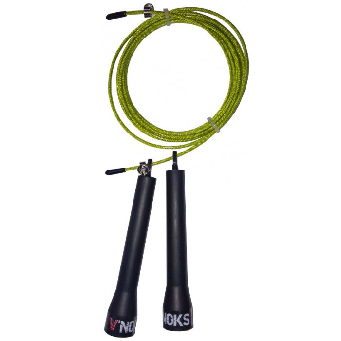 V`Noks Steel Yellow Jump Ropes