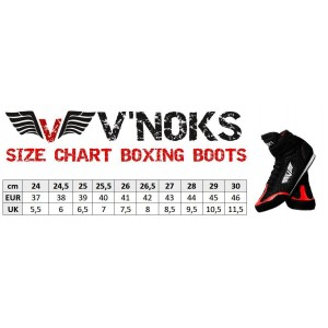 V`Noks Boxing Boots size 37