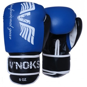 V`Noks Lotta Blue Boxing Gloves 8 oz