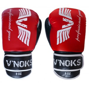 V`Noks Lotta Red Boxing Gloves 8 oz