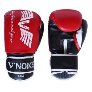 V`Noks Lotta Red Boxing Gloves 10 oz