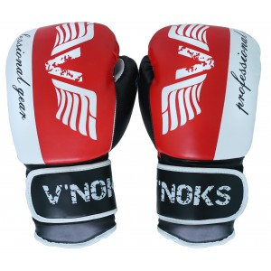 V`Noks Lotta Red Boxing Gloves 12 oz