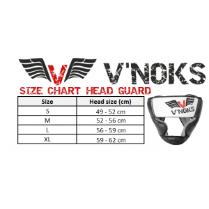 V`Noks Aria White Head Guard size L