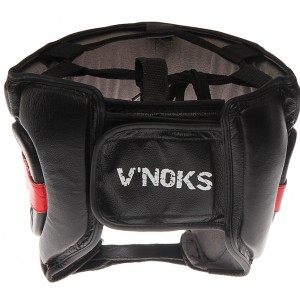 V`Noks Potente Red Head Guard size L