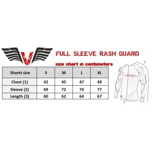 VNK Scath Rash Guard Grey with long sleeve size L