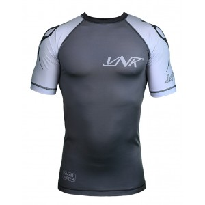 VNK Scath Rash Guard Grey with short sleeve size S
