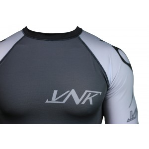 VNK Scath Rash Guard Grey with short sleeve size XL