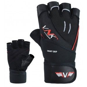 VNK Power Gym Gloves Black size M