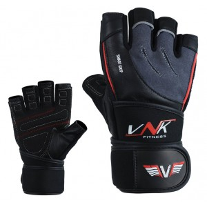 VNK SGRIP Gym Gloves Grey size L