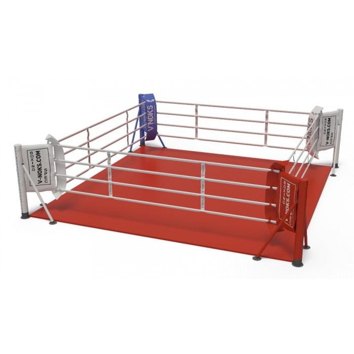 V`Noks floor mounted boxing ring 5,5*5,5 m