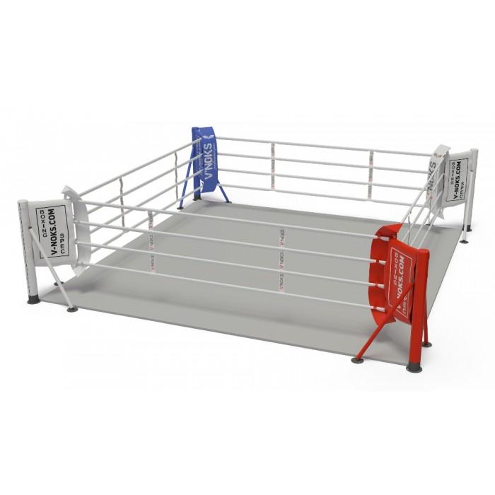 V`Noks floor mounted boxing ring 6,5 * 6,5 m