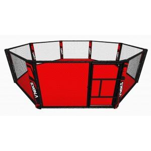 V`Noks Floor mounted EXO MMA cage 7*7 m
