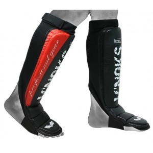 V`Noks Potente Red Shin Guard L/XL