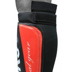 V`Noks Potente Red Shin Guard S/M